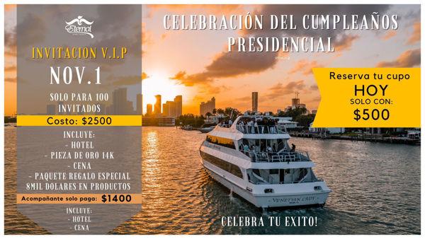 Imagen de ABONO DE CUMPLEAÑOS PRESIDENCIAL  090821-1