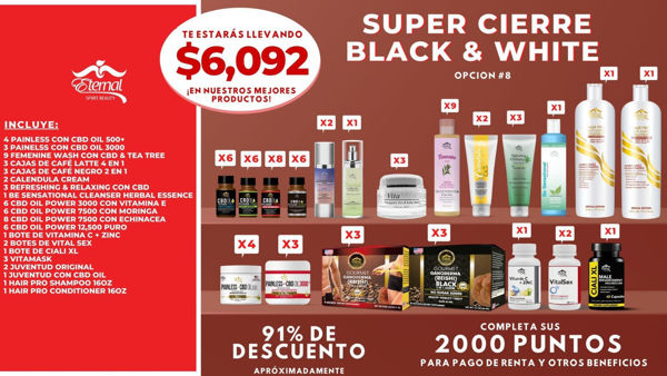 Picture of Super Magical Closing  #8 (B&W) $6,092-SEP